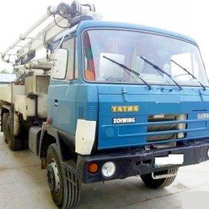 28m concrete pump Schwing T815 CZECHMAT CZ